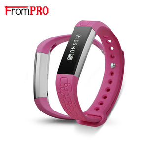 FROMPRO M1 Smart Wristband Smart Band Bracelet Health Fitness Tracker Heart Rate Watches Pedometer Anti-lost PK Fitbits Mi Band