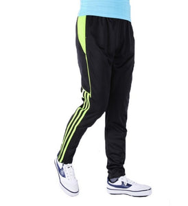 Jogging pants, trousers pants feet close football movement elastic trousers riding trousers dry fit running pants