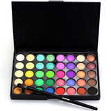 Matte Pearl Glitter Eyeshadow Special Professional Makeup Eye shadow Pearl Shimmer 40 Colors Palette Long-lasting Beauty POPFEEL