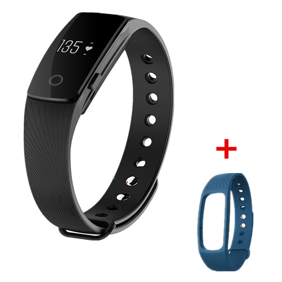 Bluetooth Smartband Heart Rate Monitor Wristband Fitness Flex Bracelet for Android iOS PK xiomi mi Band 2 fitbits smart