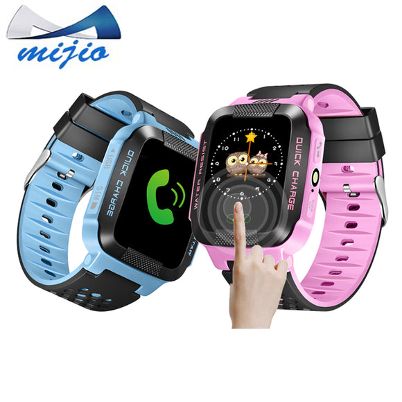 Smart Baby Watch phone Y21 Q528 GPS Tracker for kids safe SOS call Anti-Lost reminder Camera child Smartwatch pk Q100 Q90 clock