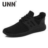 UNN New Red Running Shoes For Men Breathable Original Sneakers Black Cushioning Mens Trainers Net Women Run Sport Shoes