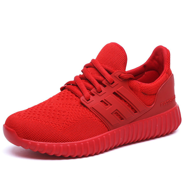 1bea63d565b3 ... UNN New Red Running Shoes For Men Breathable Original Sneakers Black  Cushioning Mens Trainers Net Women ...
