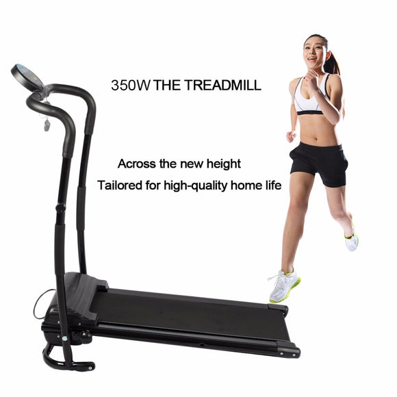 350W Mini Household Multifunctional Electric Treadmill Running Machine HSM-T02 Training Fitness Sports Equipment Ship from US