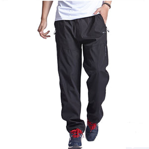 Mesh Quick Dry Men Running Pants Black Breathable Camping Hiking Sport Spring Autumn Outdoor Sport Jogging Sport Pants Trousers