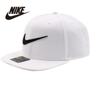 NIKE Nike 2017 Spring New Pattern Peaked Cap Neutral Men And Women General Purpose Motion Hat 639534-100-011