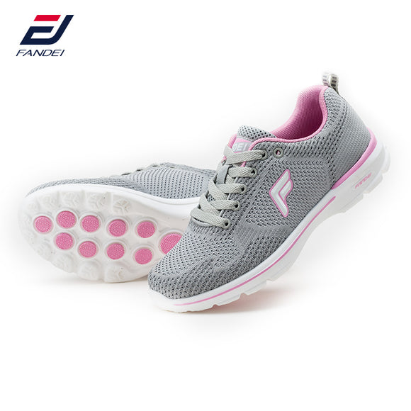FANDEI spring 2017 sneakers women breathable mesh running shoes for women light cushioning sport shoes zapatillas mujer deporte