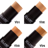 1pcs Foundation Makeup Full Cover Contour Face Concealer Base Primer Moisturizer Hide Blemish Brand Bronzer Concealer Stick