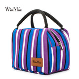 Winmax 2017 New Arrive colorful Insulated Lunch Bag Portable keep Food Safe warm Big Thermal Cooler business launch Box  school