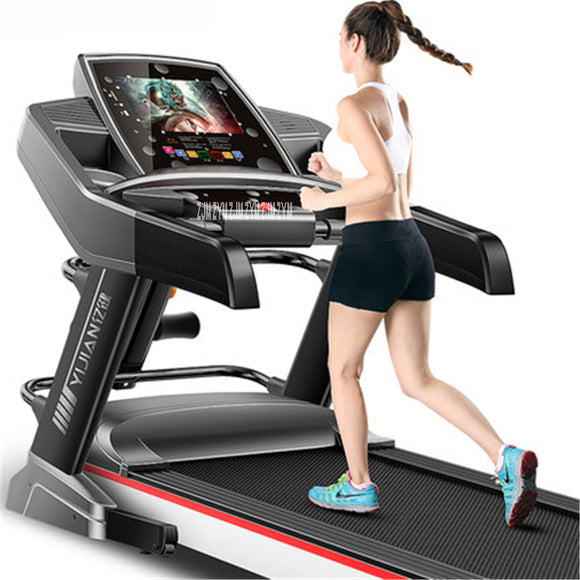 New F868 10.1 inch WIFI HD color screen Multifunctional Electric Treadmill Exercise Equipment Run Training Fitness indoor sports