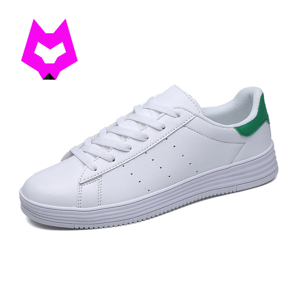 YTracyGold Women White Flats Shoes Woman Tenis Feminino Zapatos Mujer Stans zapatillas mujer Leather Canvas boat shoes Moccasins