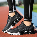 2017 New Arrival Running Shoes Mens Sport Sneakers High Quality Male Jogging Shoes Athletic Sneakers Black White Orange