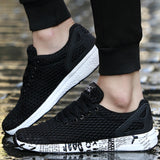 2017 New Arrival Man Sport Shoes Breathable Running Sneakers Lightweight Walking Jogging Trainers Black Army Green Men's Trainer
