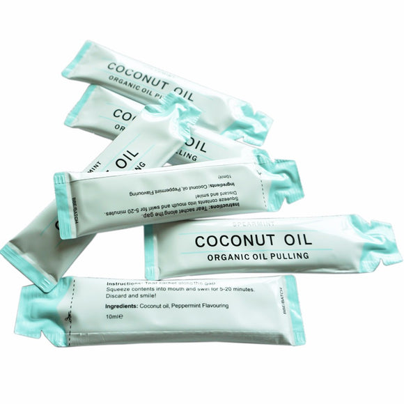 100% Natural Coconut Oil Mouthwash for Teeth Whitening  (5piece/lot)