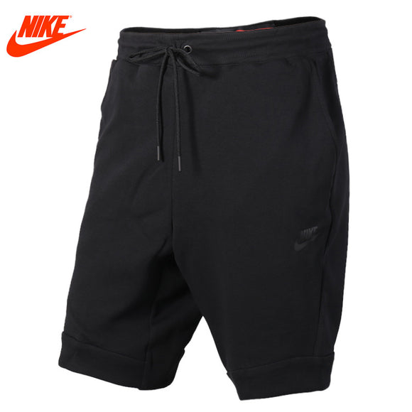 Original Nike men's summer sports loose knit shorts Black and Grey pants