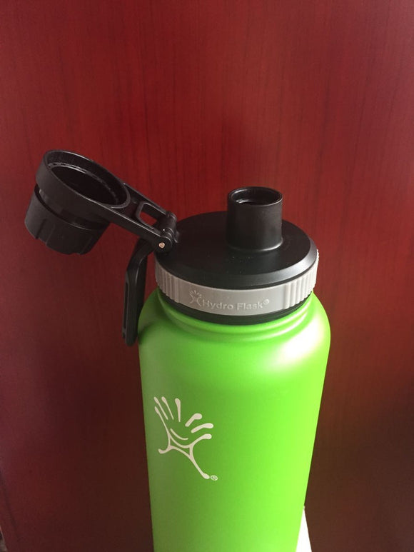 New Spout Twist Lid with Solid Loop Handle for 18oz/32oz/40oz Hydro Flask Wide Mouth Tumbler Coffee Mug Beer Cooler