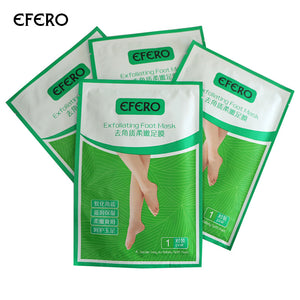 efero 5Pack Peeling Foot Care Feet Mask Pedicure Socks Sosu Exfoliating Mask For Foot Dead Skin Baby Foot Peel Cuticle Remover