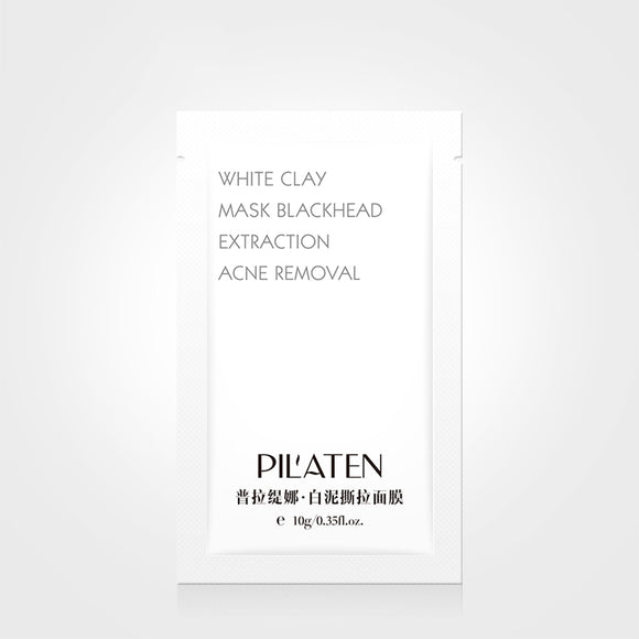 PILATEN White Clay Peel Mask Blackhead Extraction Acne Treatments Mask Face Care Pore Cleansing Black Head Face Mask Whitening