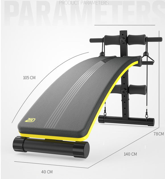 Ab sit-ups fitness equipment home men and women multi-function abdomen exercise abdominal muscle board dumbbell stool supine