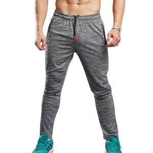 vertvie Summer Fitness Sport Pants Men Elastic Breathable Sweat Pants Running Training Pants Gym Basketball Trousers Plus Size