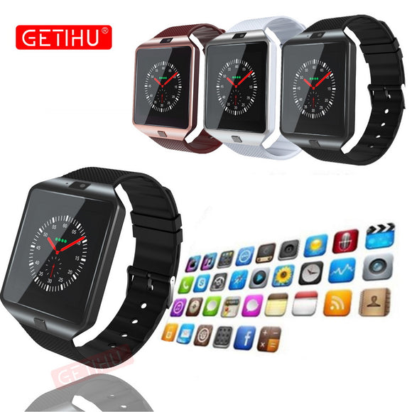 DZ09 Smartwatch Sport SIM Digital Electronics Wrist Phone Smart Watch With Men Women For Apple Android Wach Wearable Devices