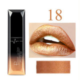 PUDAIER 21 colors fashion matte lip gloss Waterproof  long-lasting matte lipstick sexy Pigment Dark Purple Nude Glossy Lipgloss