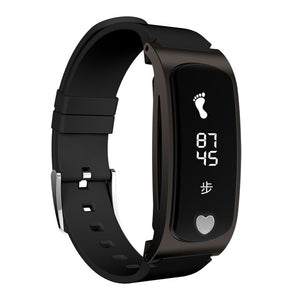 Z9 PLUS smart Bracelet motion pedometer intelligent  health waterproof metal heart rate blood pressure ECG Bracelet PASSOMETER