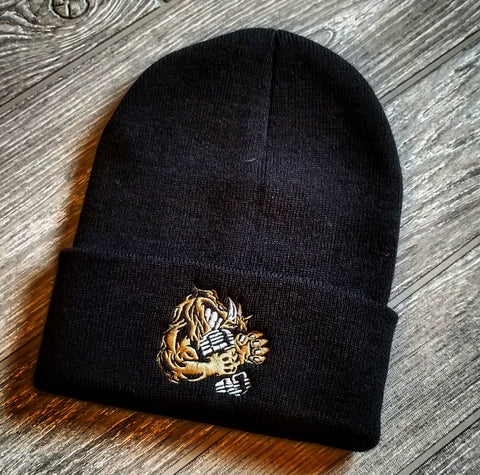BEANIE (BROWN/BLACK)
