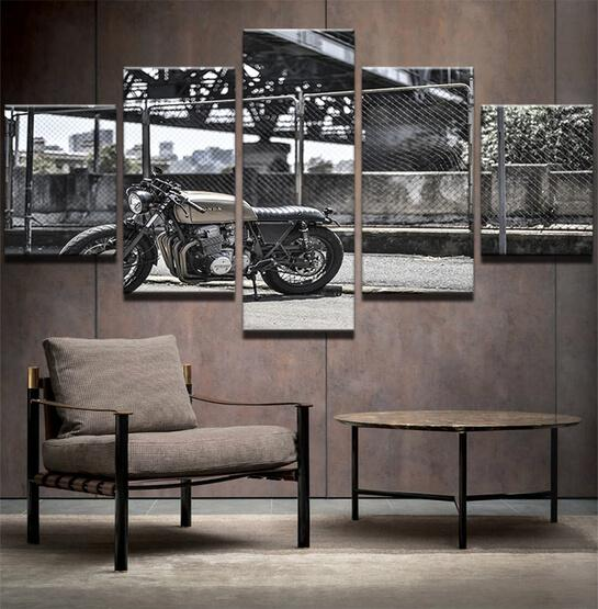 OLD FASHIONED MOTORCYCLE - Le Beau Tableau
