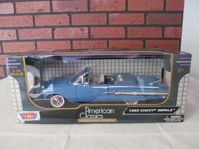 American Classic 1960 Chevy Impala 1/18th Scale Die Cast