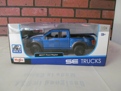 Maistro 2017 Ford Raptor 1:24 Scale Die Cast