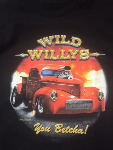 Wild Willys You Betcha!! Tee Shirt
