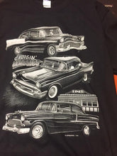 Crusin' Classics Black Tee Shirt