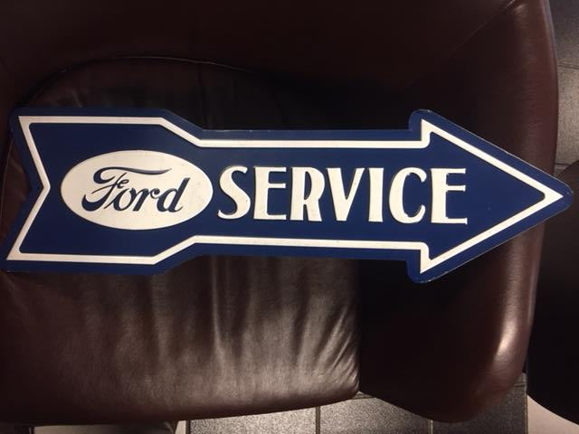 Ford Service Arrow Sign