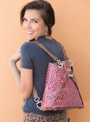Sophie Unreal Pink Laredo Modeled