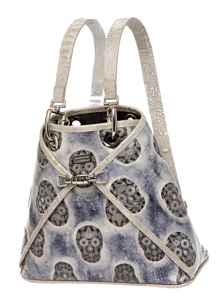 Sophie Classic Sterling Skulls Backpack