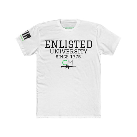 CM Enlisted U Men's S/S Tee - Charlie Mike Outfitters