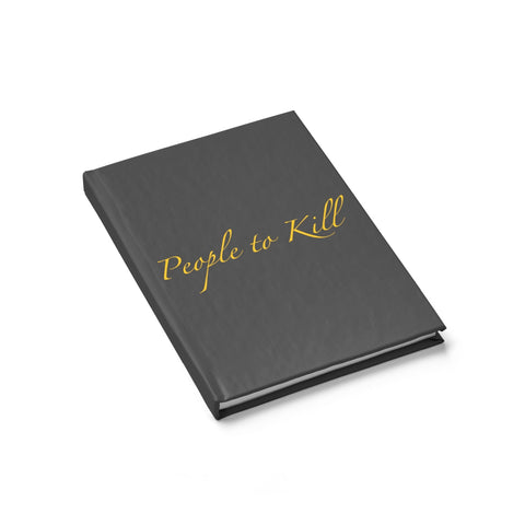 CM People to Kill Journal - Ruled Line - Charlie Mike Outfitters
