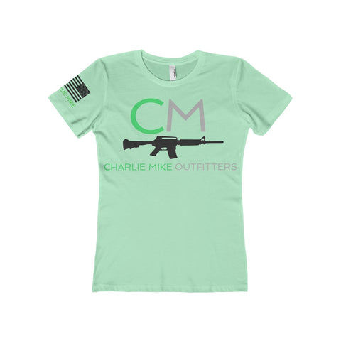 CM Boyfriend Women's Tee - Charlie Mike Outfitters
