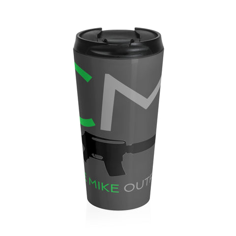 CM Heated Stainless Steel Travel Coffee Mug - Charlie Mike Outfitters