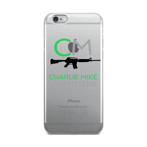 CM Logo iPhone Case - Charlie Mike Outfitters