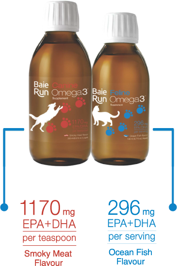 Comparing Omega3 products from Baie Run.