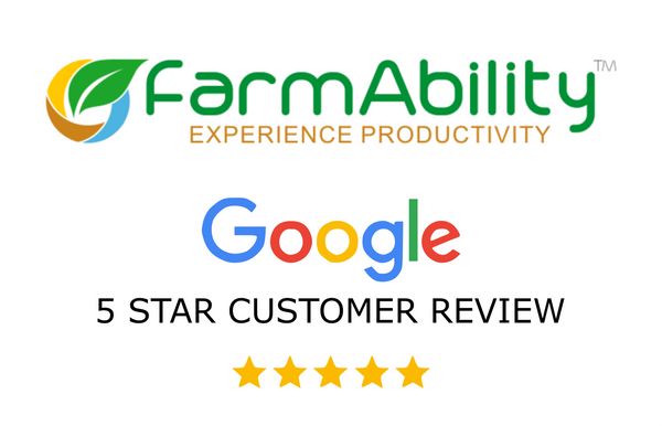 FarmAbility has a 5 Star Customer Review Rating.