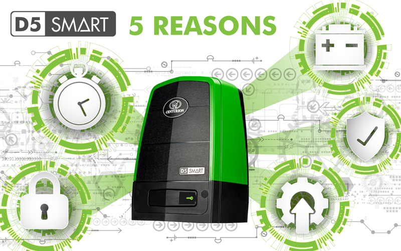 5 Reasons to Get the D5 SMART Gate Motor Right Now!