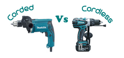 Which one is better between a Corded Drill and a Cordless Drill?
