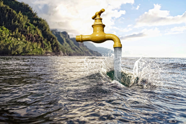 Is municipal tap water safe to drink in South Africa?