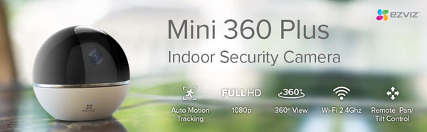 In the spotlight | Hikvision C6TC (Mini 360 Plus) Security Camera
