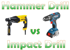 All you need to know about Hammer Drills vs. Impact Drills