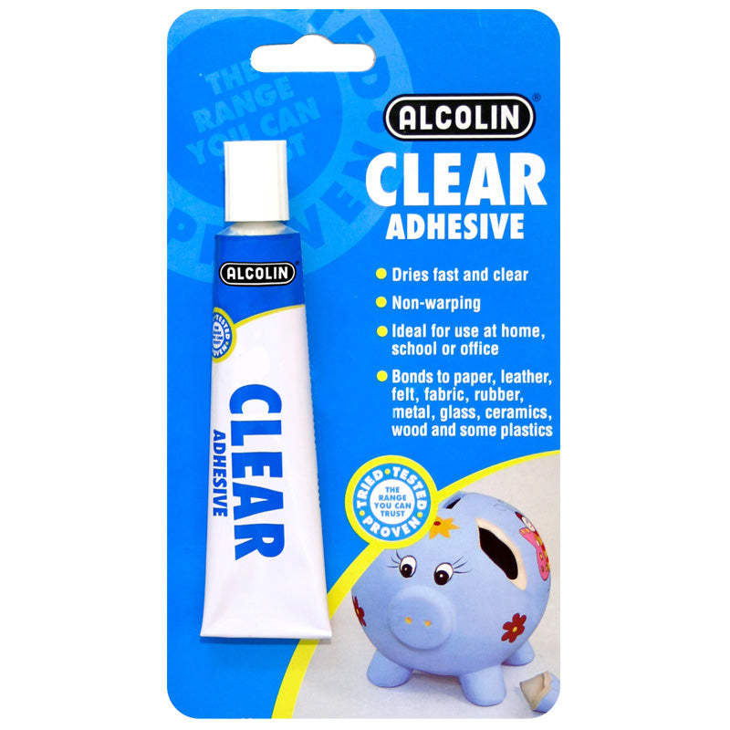 Alcolin Clear Adhesive - 50ml - FarmAbility