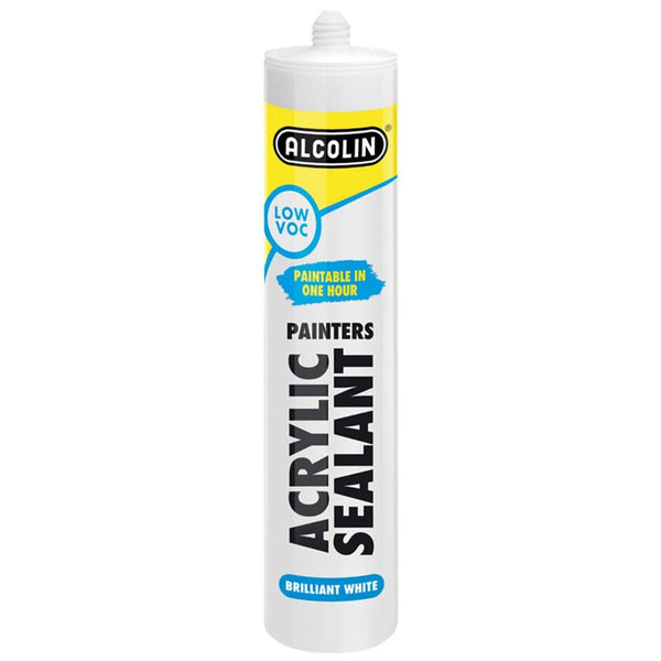 Alcolin Acrylic Sealant Brilliant White - 280ml - FarmAbility